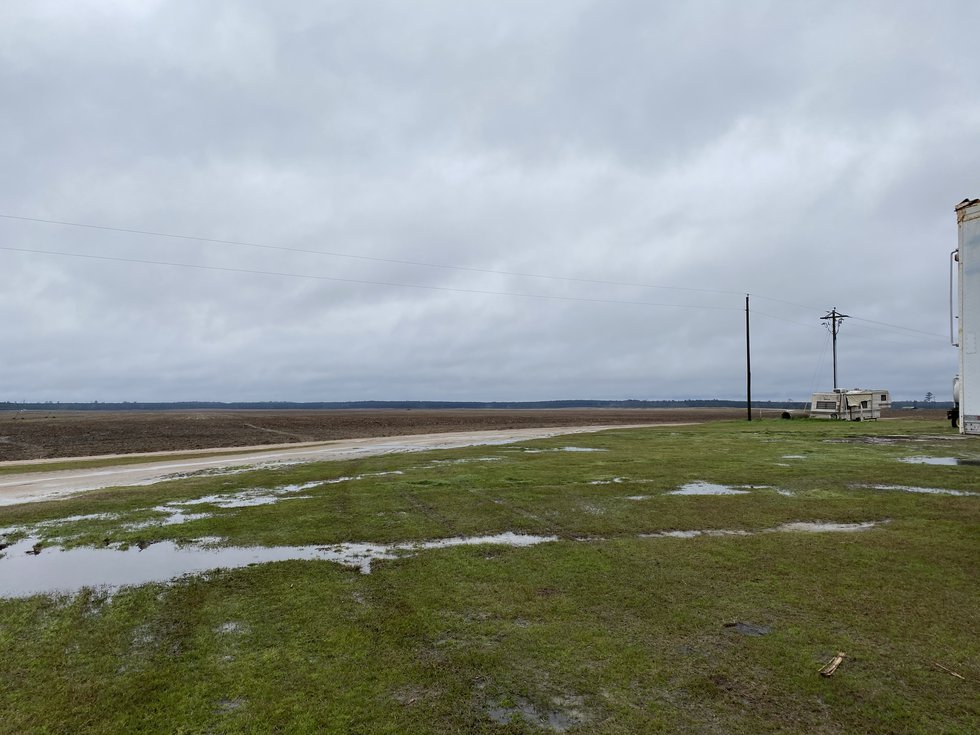The past few weeks have been wet in Screven County