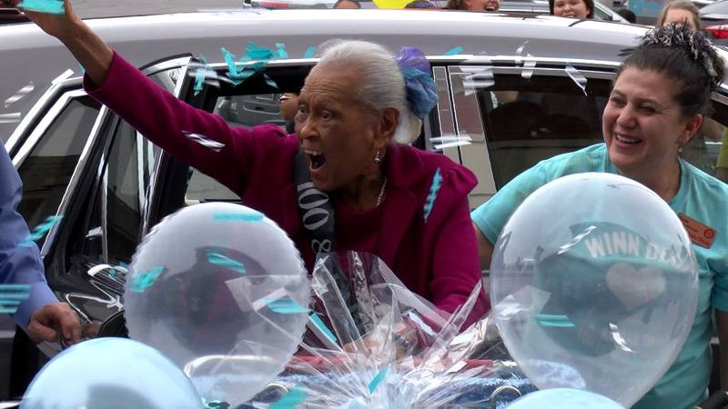 Romay Davis turned 100 years old in style thanks to her employer, Southeastern Grocers, the...