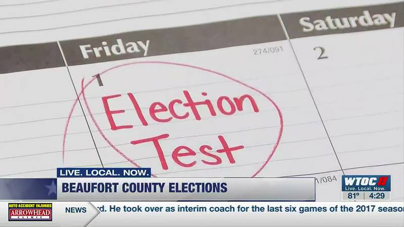 Beaufort Co. gearing up for November elections with public test