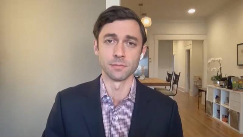 Sen. Jon Ossoff working on a COVID relief bill for smaller and medium-sized cities