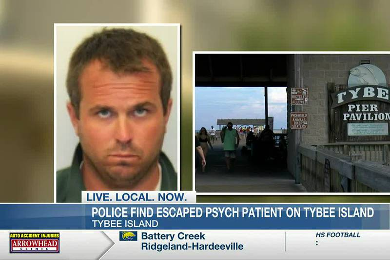 Police find escaped psych patient on Tybee Island