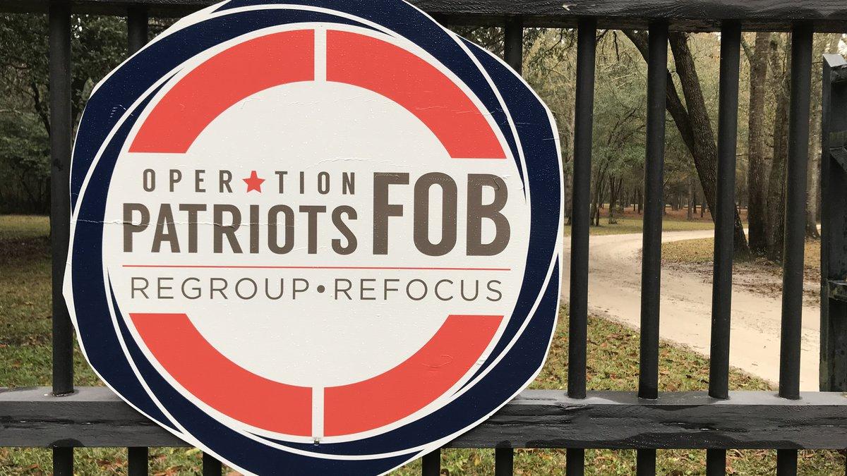 The meeting was help on OPFOB's land in Ridgeland, South Carolina.