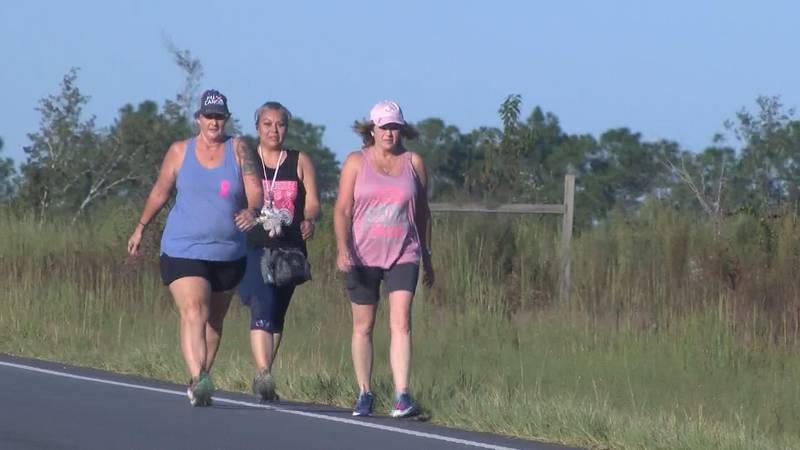 A team from Toombs County spent Saturday pounding the pavement for a good cause - raising money...