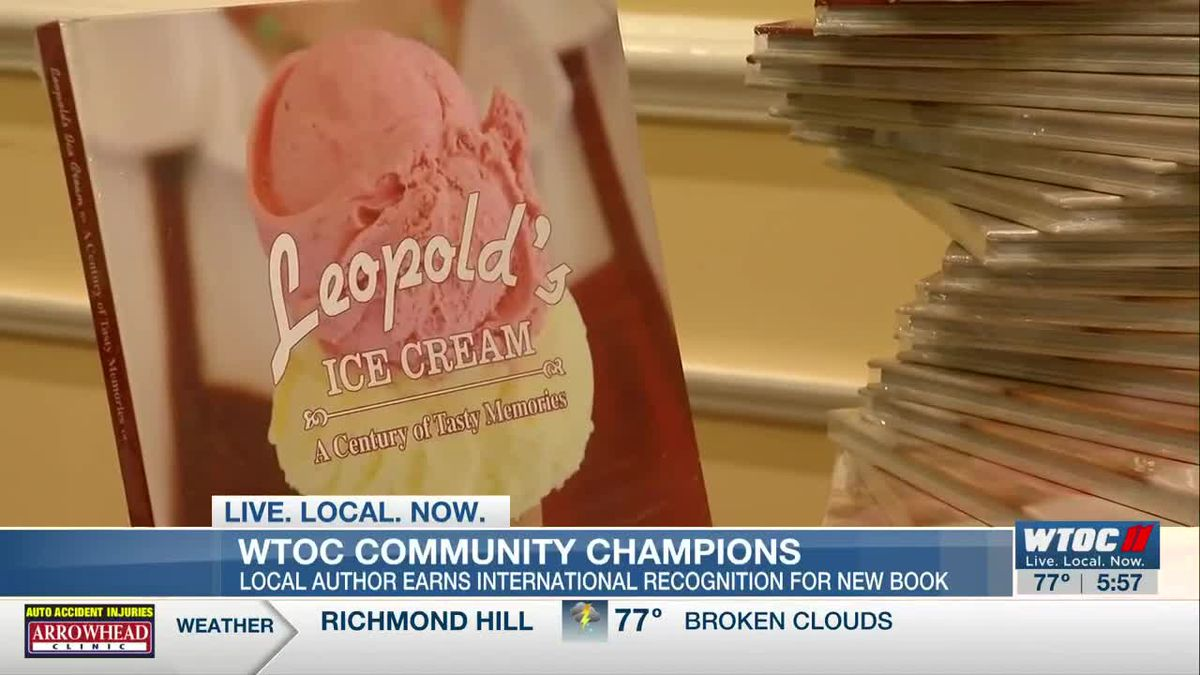 Community Champions: Author earns international recognition for book on Leopold's