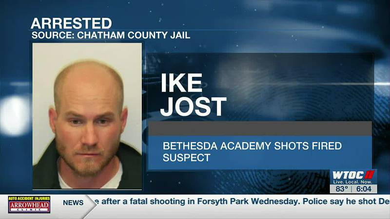 Police arrest man for firing shots at occupied vehicles at Bethesda Academy