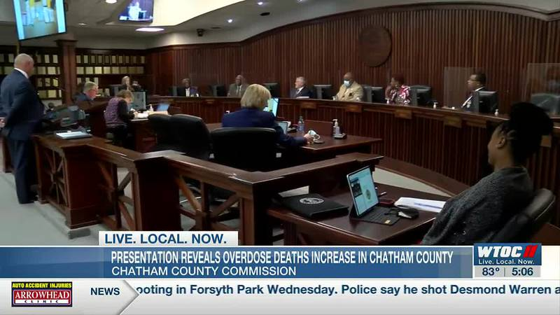 Presentation reveals overdose deaths increase in Chatham Co.