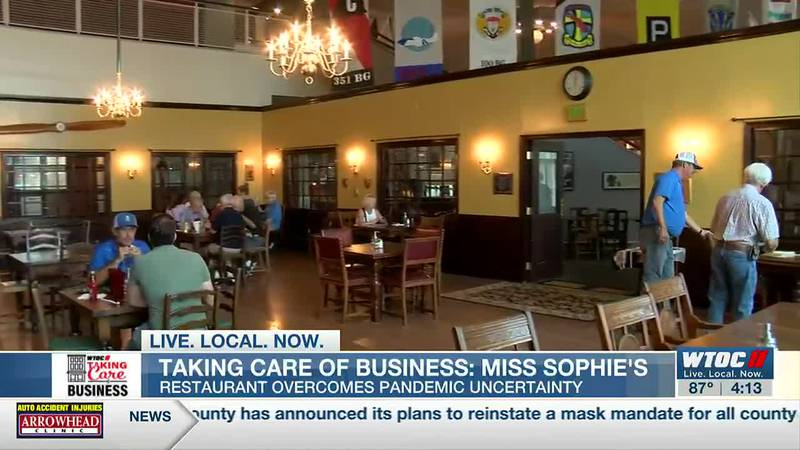Miss Sophie's pushed through for the employees, but made it through thanks to the community