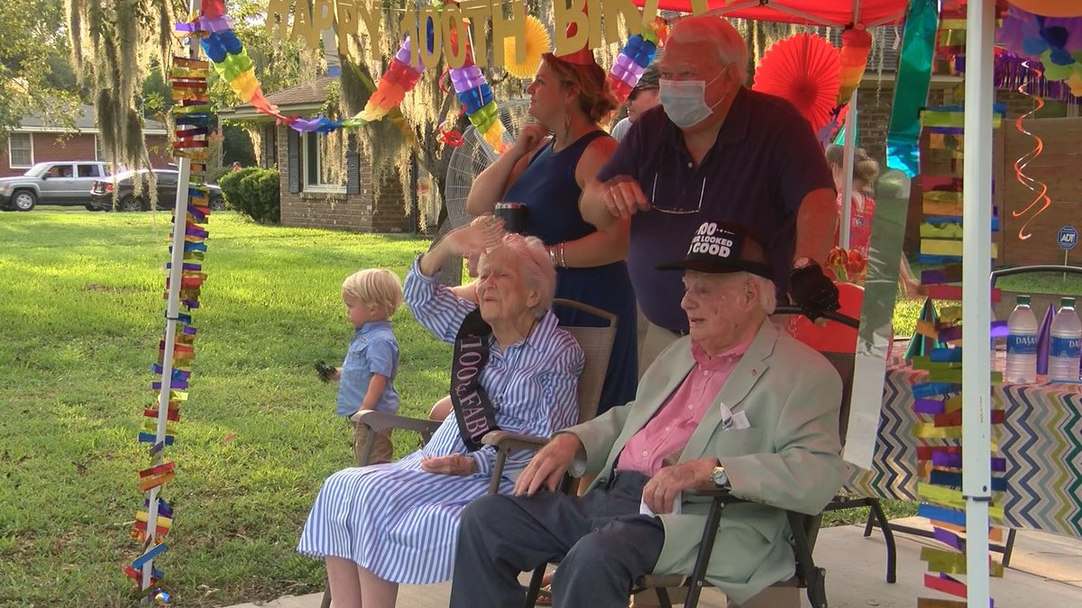 Billy and Nellie Jones celebrated their 80th anniversary on the their 100th birthday.