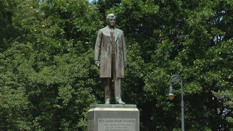 Rep. Rose calls for removal of Tillman statue from capitol complex