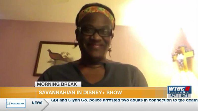 Savannah woman in Disney+ show