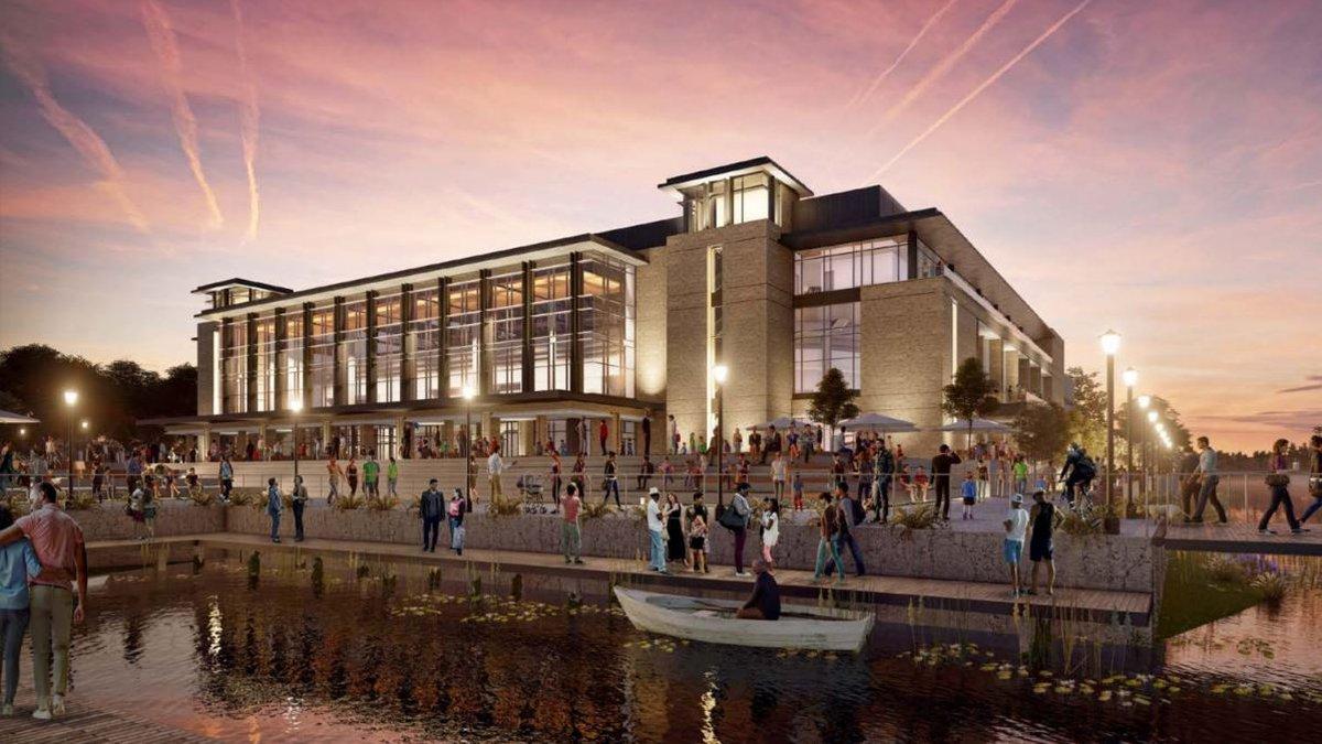 New Savannah Arena design.