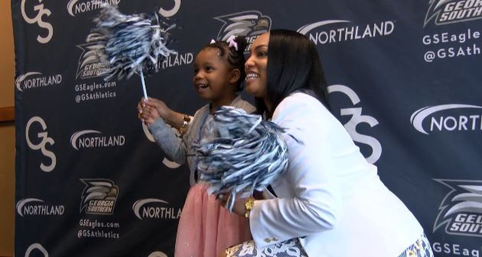 Howard hopes to inspire young women that career success and motherhood can go hand in hand.
