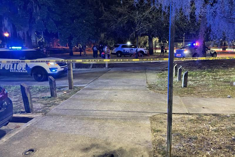 The Savannah Police Department is investigating a shooting at Forsyth Park.