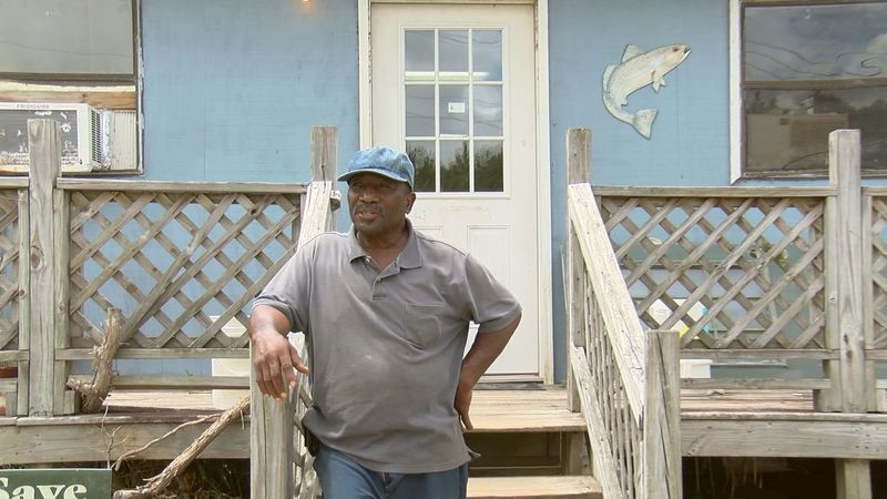 Ed Atkins, of Atkins Live Bait, says the Gullah fishing industry is recovering from the...