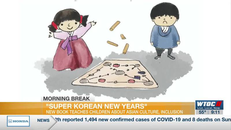 Local author writes children's book celebrating Asian heritage, Lunar New Year