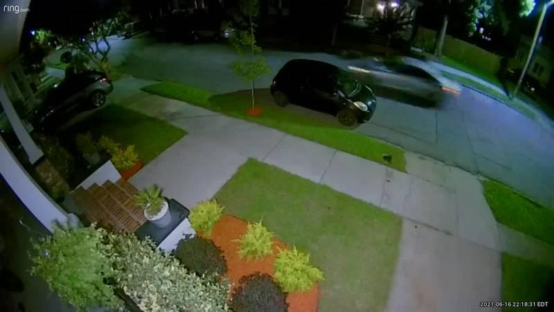 VIDEO: Baldwin Park surveillance video of chase