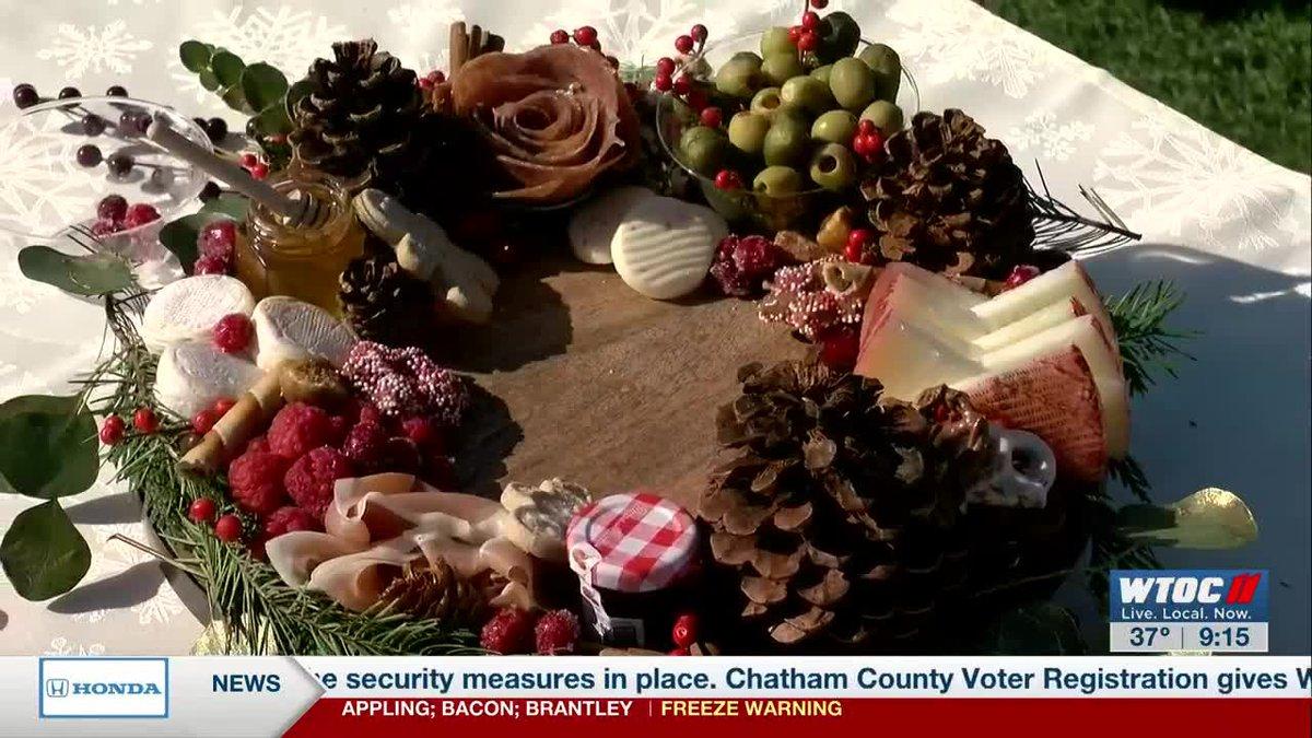 Chatham Charcuterie: How to make a charcuterie wreath