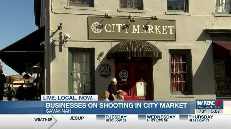 Police investigating shooting near City Market