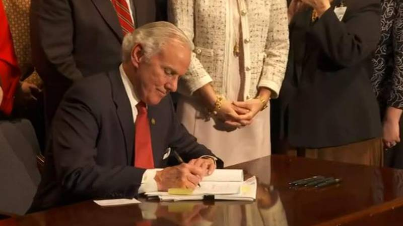 McMaster signed the South Carolina Fetal Heartbeat and Protection from Abortion Act into law on...