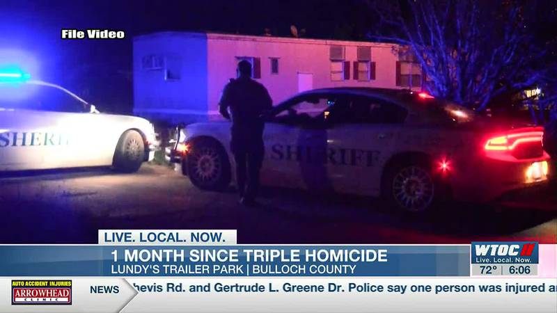 Bulloch Co. triple homicide still under investigation one month later