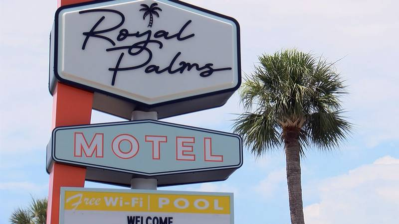 Royal Palms Motel on Tybee Island