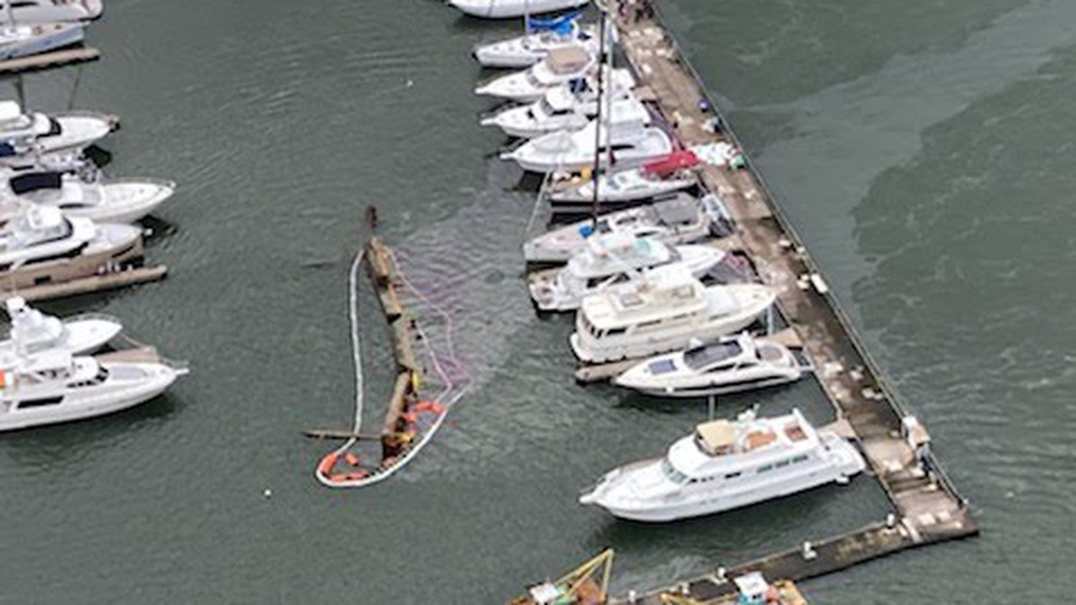 Officials with the Coast Guard say they along with state and local port agencies responded to a...