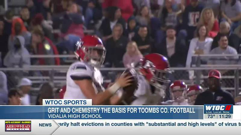 Grit, chemistry the basis for Toombs County football