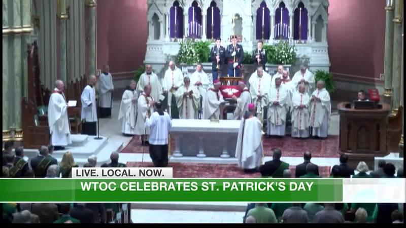 WTOC Celebrates St. Patrick's Day