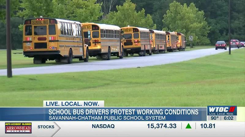 Savannah-Chatham bus driver strike continues, drivers call out again Tuesday