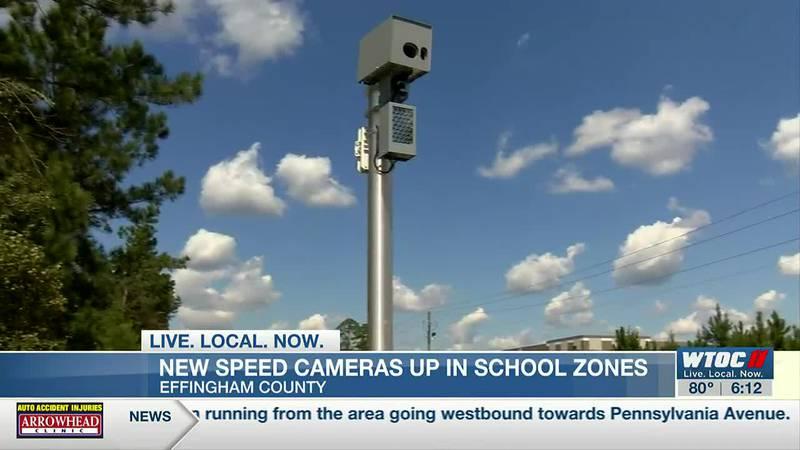 Speed cameras placed in Effingham Co. school zones