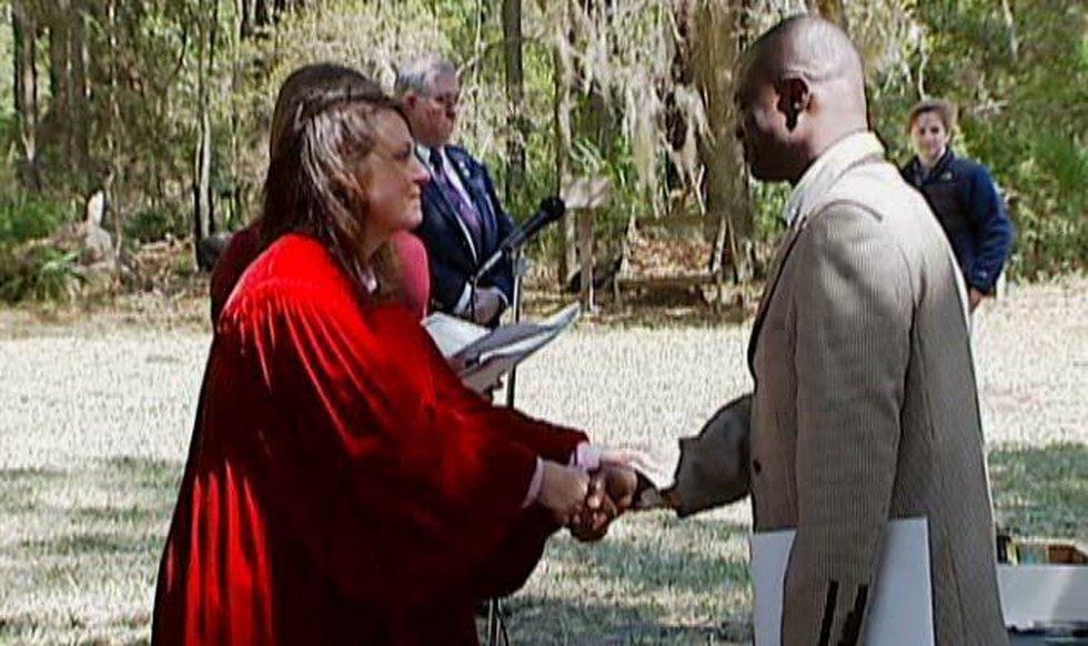 """Chibeuze """"Sonny"""" Onunka is a naturalized U.S. citizen."""