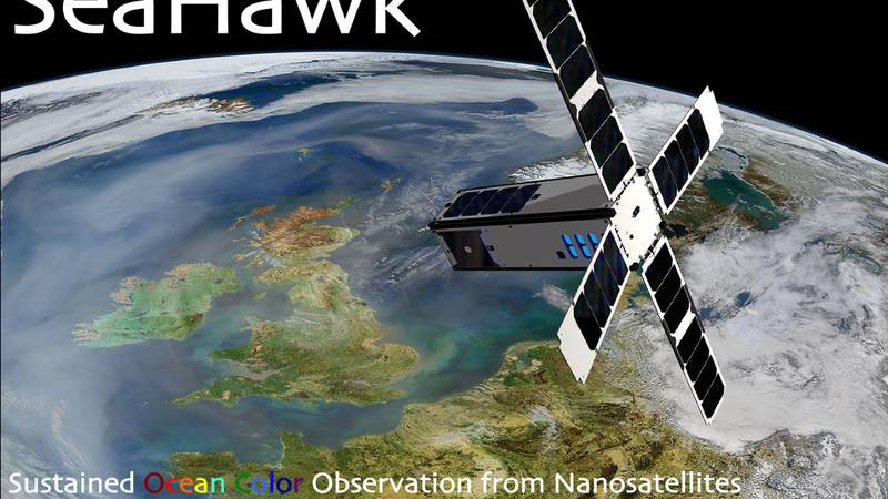 The nanosatellite will capture about 100 images per week