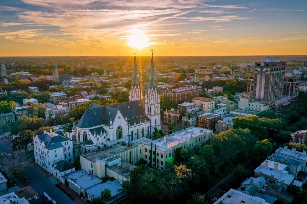 St. John the Baptist Cathedral in Savannah.