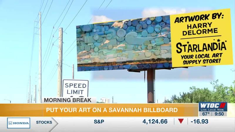 Starlandia local art billboards
