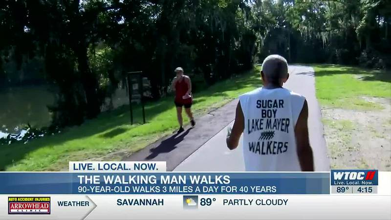 Savannah 90-year-old walks three miles a day for past 40 years