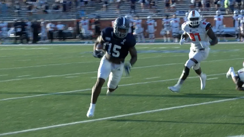 Senior RB J.D. King is the Eagles' leading rusher in 2020, but will miss the remainder of the...