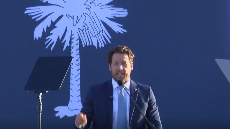Former United States Representative Joe Cunningham officially kicked off his campaign for...