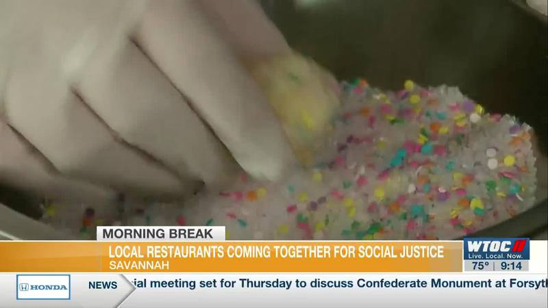 Local restaurants coming together for social justice