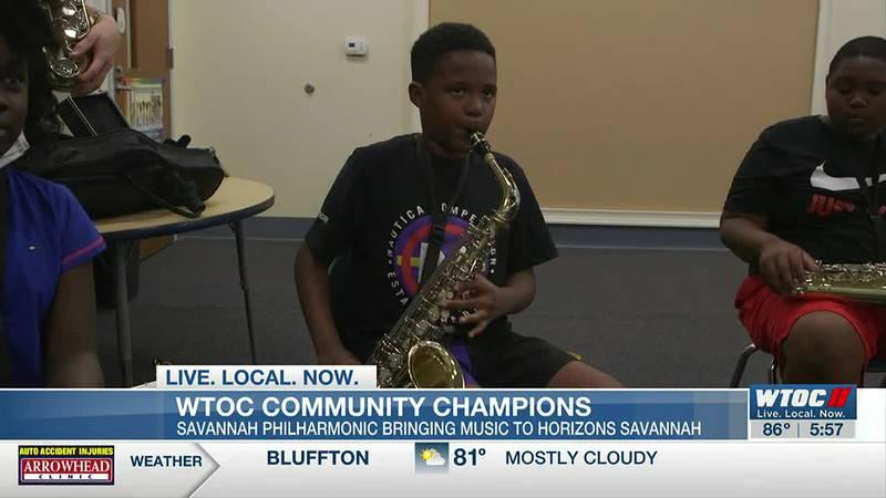 Community Champions: Savannah Philharmonic teams up with Horizons Savannah for summer camps