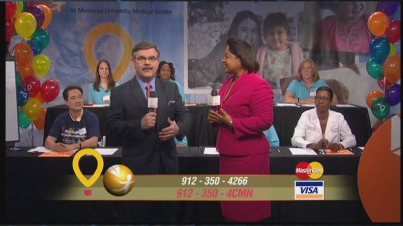 A previous telethon for the Children's Miracle Network.