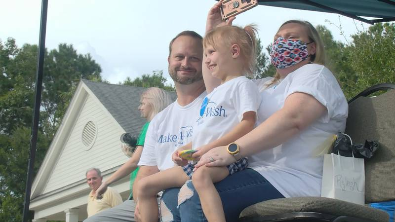 Make-A-Wish Georgia makes wishes come true for children with critical illnesses, and Tuesday,...