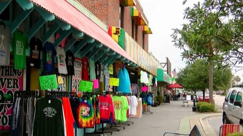 A look down Main Street in North Myrtle Beach. (Source: Lisa Gresci)