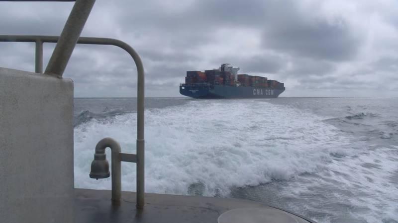 Total port congestion.