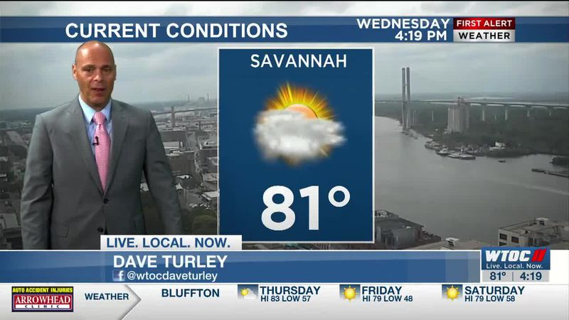 Dave Turley's 4pm Wednesday WX Forecast
