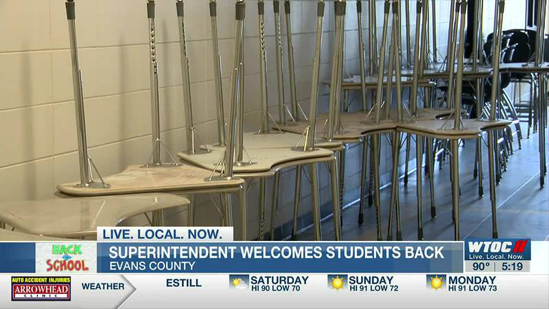 Evans Co. superintendent ready to welcome students back