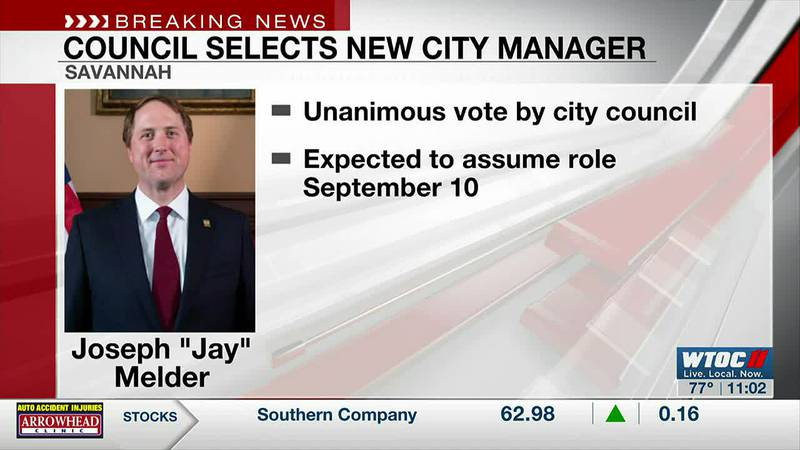 Savannah City Council selects first permanent City Manager since 2019