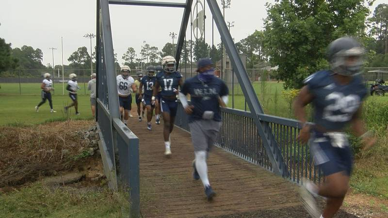 Friday morning, up in Statesboro, the Eagles got to work chasing their hopes for a championship.
