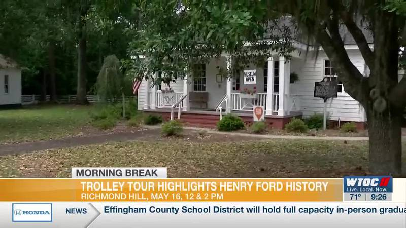 Richmond Hill trolley tours highlights Henry Ford's history