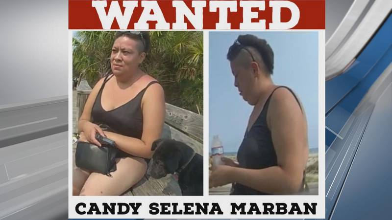 Candy Marban is wanted by Tybee Island Police after they say she attempted to drown an injured...