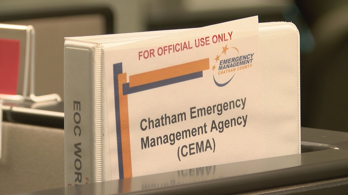Chatham County Emergency Management Agency.